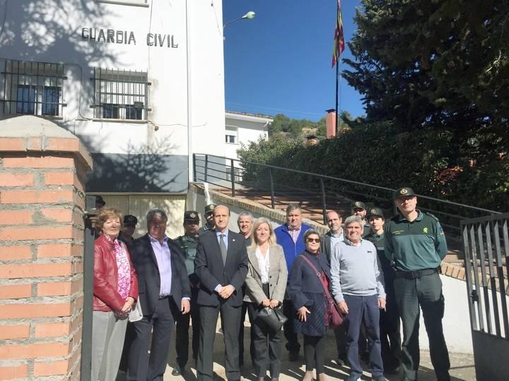 Sánchez-Seco se reúne con representantes municipales de la demarcación del cuartel de Tendilla