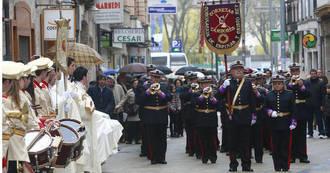 Bandas de Palencia, Burgos y Ciudad Real participan en el II Certamen de Música Cofrade de Yebes