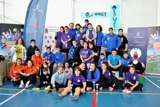 La Selección de Bádminton de Guadalajara brilla en casa en el Interprovincial de Villanueva de la Torre