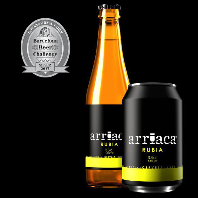 Otro triunfo para Cervezas Arriaca: Plata en el Barcelona Beer Challenge 2017