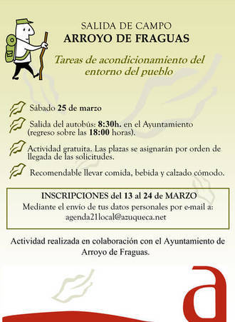 Los azudenses que lo deseen podrán irse de excursión a Arroyo de Fraguas