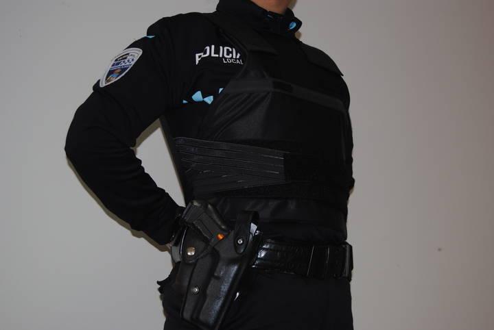 Nuevos chalecos antibalas para los policías locales de Guadalajara