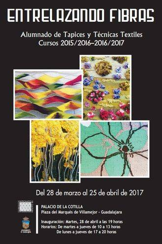 La Cotilla acogerá la exposición 'Entrelazando fibras', de los alumnos de la Escuela de Tapices y Técnicas Textiles