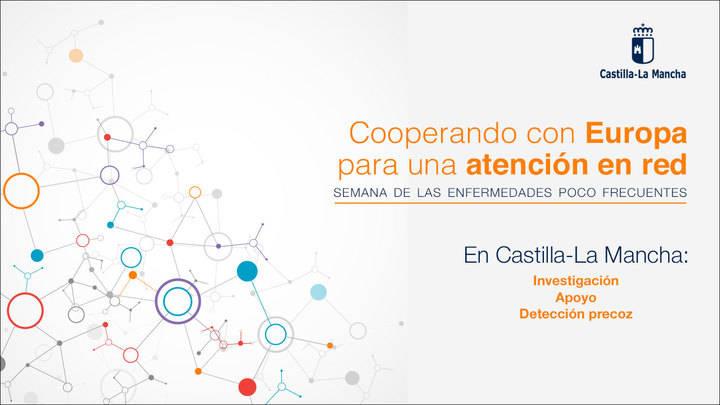 Castilla-La Mancha se incorporará a proyectos europeos de referencia sobre Enfermedades Raras