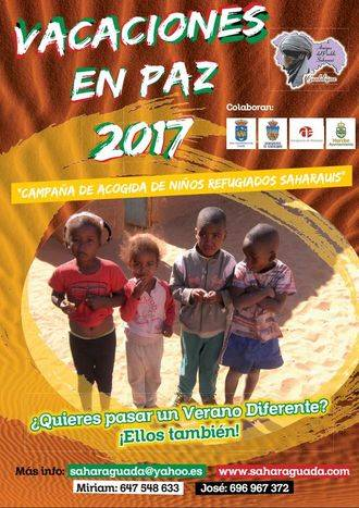 Se necesitan 14 familias de Guadalajara para acoger a niños saharauis de vacaciones