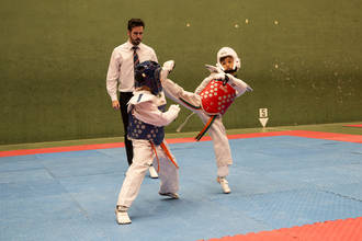 Trillo acogió la III Jornada de Deporte Escolar de Taekwondo, en la que participaron cerca de 200 taekwondistas