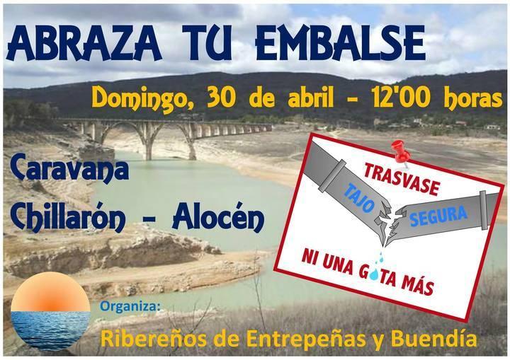 Los ribereños organizan una nueva caravana contra el Trasvase Tajo-Segura