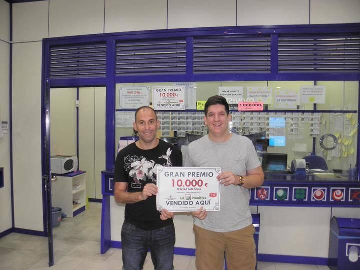 Un afortunado de Guadalajara se lleva 10.000 euros del Joker de La Primitiva