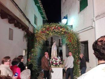 Almonacid recupera la procesión de la Virgen de Fátima
