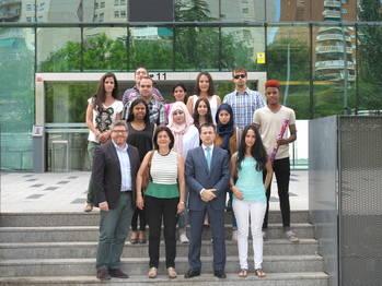 Clausura del Curso de Técnico de Administración y Finanzas en la capital