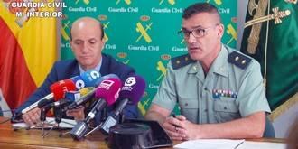 La Guardia Civil detiene a 15 personas como presuntos autores de al menos 52 robos en vivienda de El Casar