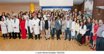 El Hospital de Guadalajara celebró el acto de despedida de los 34 residentes que finalizaban su estancia formativa
