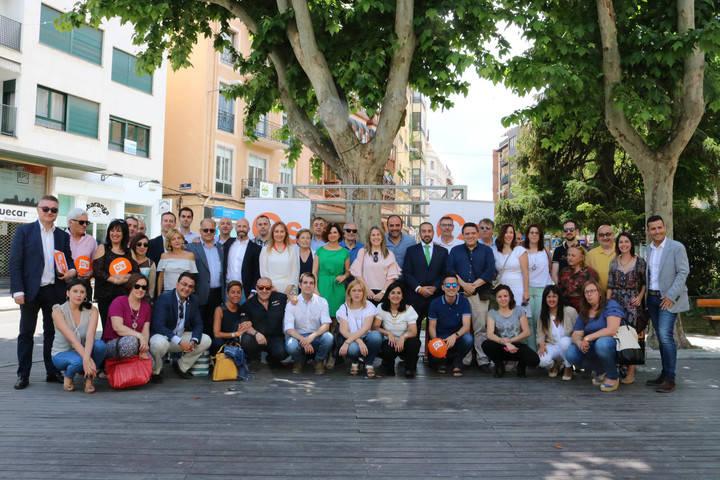Guadalajara 'manda' en la nueva estructura de Ciudadanos Castilla-La Mancha