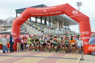 Carlos Manuel Chacón y Rosa Teresi ganan la XI Media Maratón Azuqueca Chemo-Liconsa