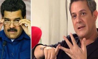 Alejandro Sanz se despacha a gusto contra el presidente venezolano Maduro :