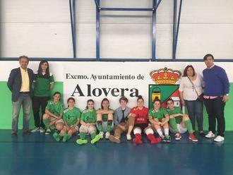 Las chicas del Alovera se despiden de La Dehesa con una derrota