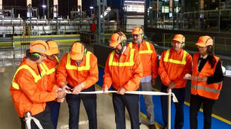 Después de 30 millones de euros de inversión, ya está en funcionamiento en Azuqueca el horno más grande del mundo