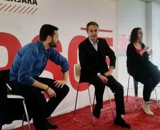 El alcalde socialista de Azuqueca da plantón a Zapatero, de visita en su ciudad en apoyo de Susana Díaz