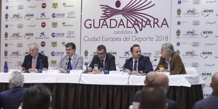 Excelente respuesta en el primer acto de promoción de a Guadalajara como candidata a Ciudad Europa del Deporte