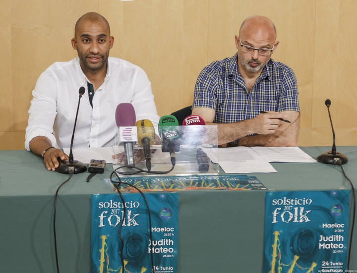 Maeloc y Judith Mateo, protagonistas del Solsticio Folk 2017