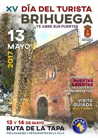 Brihuega celebrará su XV Día del Turista el 13 de mayo con una jornada de puertas abiertas música, un mercado medieval y una interesante Ruta de la Tapa