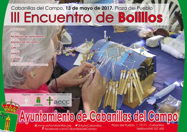 """La Asociación de Mujeres """"La Campiña"""" organiza su III Encuentro de Bolillos en Cabanillas"""