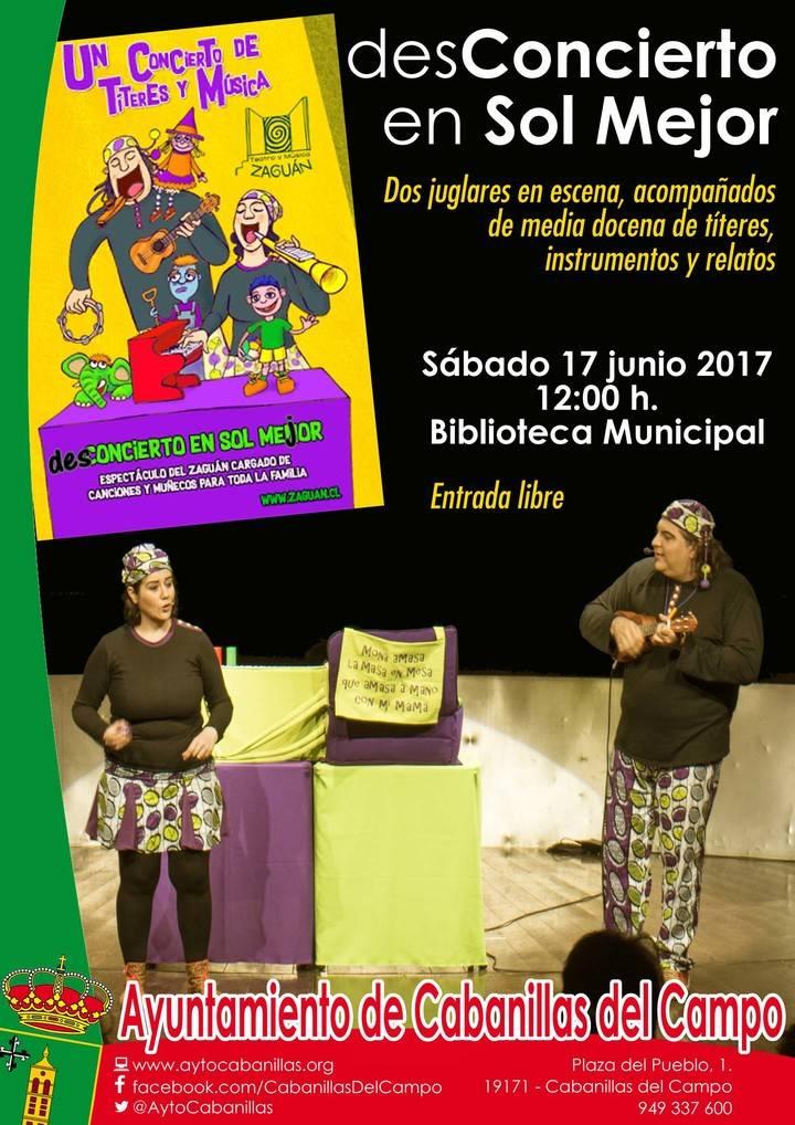 Intensa semana de actividades en la Biblioteca Municipal de Cabanillas del Campo