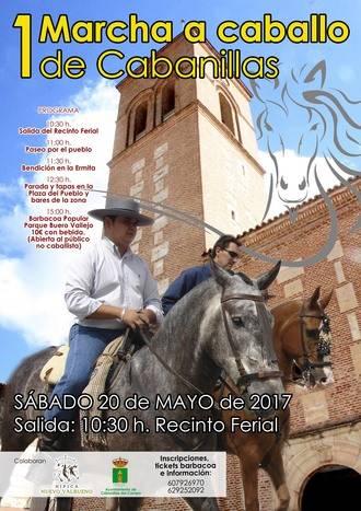 Cabanillas del Campo acogerá su I Marcha a Caballo el próximo sábado 20 de mayo