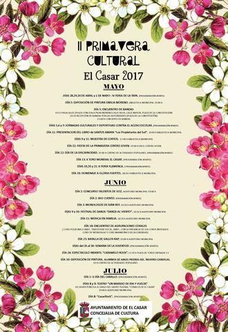 El Ayuntamiento de El Casar ha diseñado una intensa y completa 'Primavera Cultural'