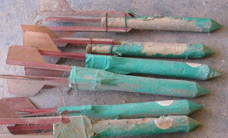 La Guardia Civil desactiva cincuenta cohetes granífugos en Mondéjar