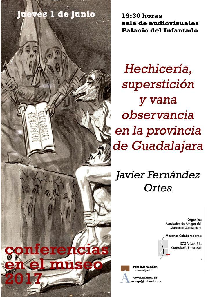 El Museo provincial acoge una conferencia sobre hechicería y superstición en Guadalajara