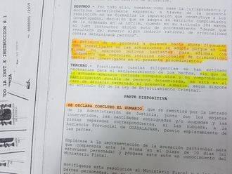 La Fiscalía no ve pruebas para formular acusaciones en el crimen de la anciana Faustina Vacas de Hiendelaencina