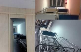 """""""Las camas rotas se vuelven a amontonar en el Hospital de Guadalajara, mientras Page se olvida de que hay cientos de enfermos en lista de espera"""""""