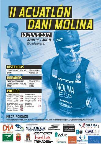 Llega el II Acuatlón 'Dani Molina' en Pareja