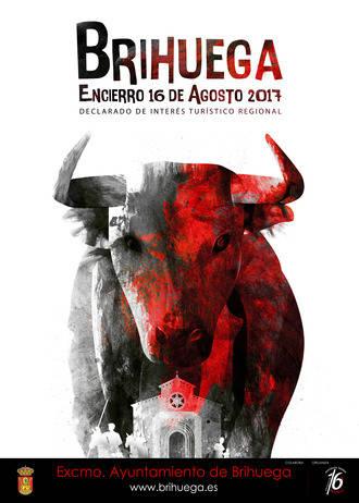 El Encierro de Brihuega ya tiene cartel anunciador