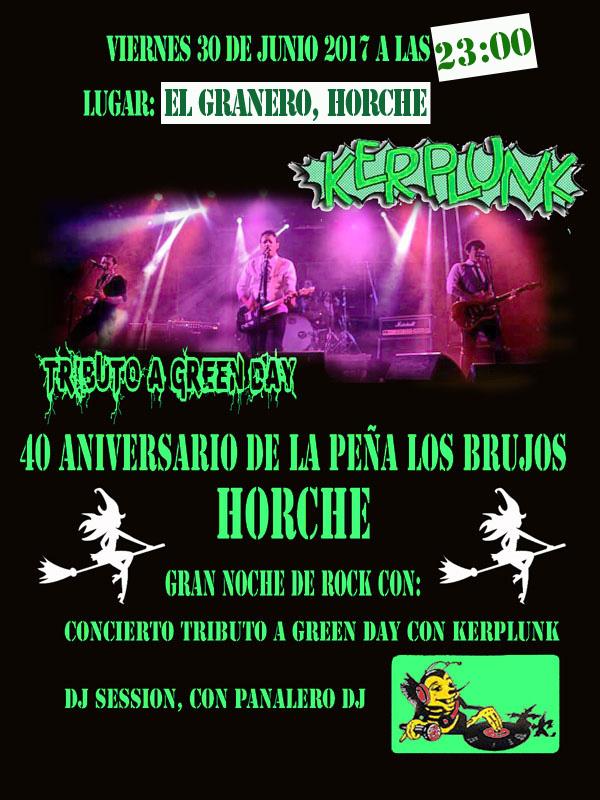 """La peña """"Los Brujos"""" de Horche celebra su 40 aniversario con dos conciertos"""