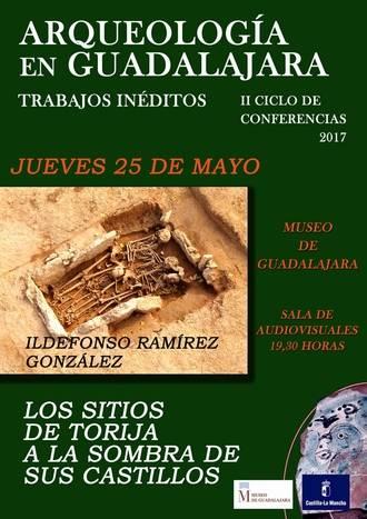 El Museo provincial acoge una conferencia sobre trabajos arqueológicos en el entorno del castillo de Torija