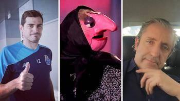 Iker Casillas se mofa de Pedrerol y le llama Doña Rogelia