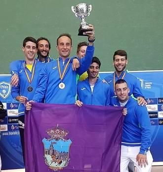 El Diocesano Central Óptica, campeón de España de frontenis