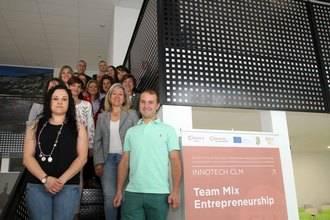 Veinte emprendedores han recibido asesoramiento personalizado para sus proyectos empresariales en el curso 'Emprendedores Team Mix'