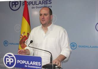 """Castillo: """"El PP es un partido sólido, unido y fuerte frente a un PSOE que está dividido y roto como claramente se ve en Guadalajara"""""""