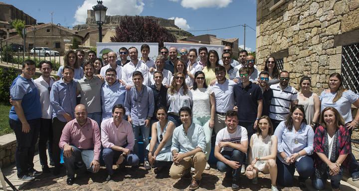 Javier Maroto clausura la III Escuela de Verano de NNGG celebrada en Atienza