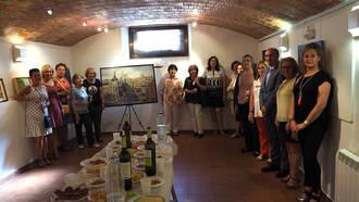 Inaugurada la exposición de pintura de la Asociación de Amas de Casa de Sigüenza