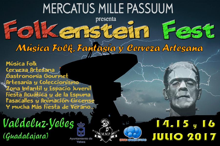 La Folkenstein Fest llega los días 14, 15 y 16 a Valdeluz con conciertos de folk, Food Trucks y cerveza artesana