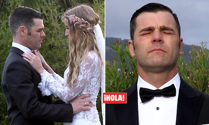 hola! lágrimas y más lágrimas en la boda de fonsi nieto | guada news