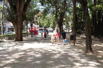 Guadalajara recupera este jueves las temperaturas propias de la estación en que nos econtramos : máximas de 33ºC y la mínima en los 19ºC