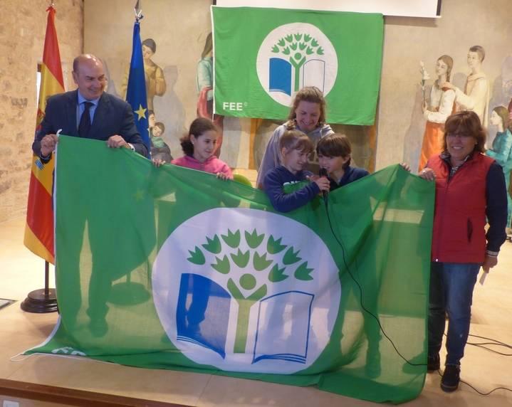 La Diputación entrega 'Banderas Verdes' a seis colegios en el XI Encuentro Provincial de Ecoescuelas