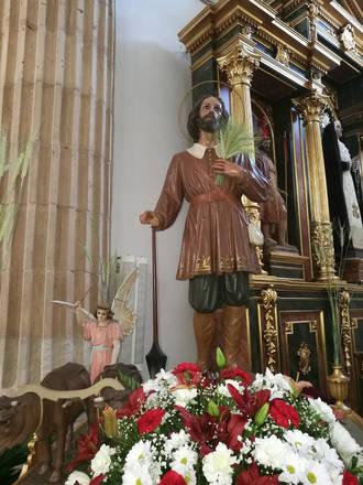Los agricultores de Yebra volvieron a honrar a su patrón, San Isidro Labrador