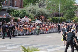 Entre 40.000 y 50.000 personas participaron en Guadalajara en los actos organizados por el Día de las Fuerzas Armadas
