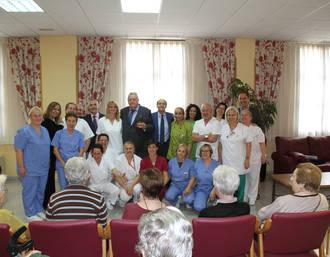 Emotivo homenaje a Arturo Carpintero, promotor de la Residencia de Mayores 'Princesa de Eboli' de Pastrana